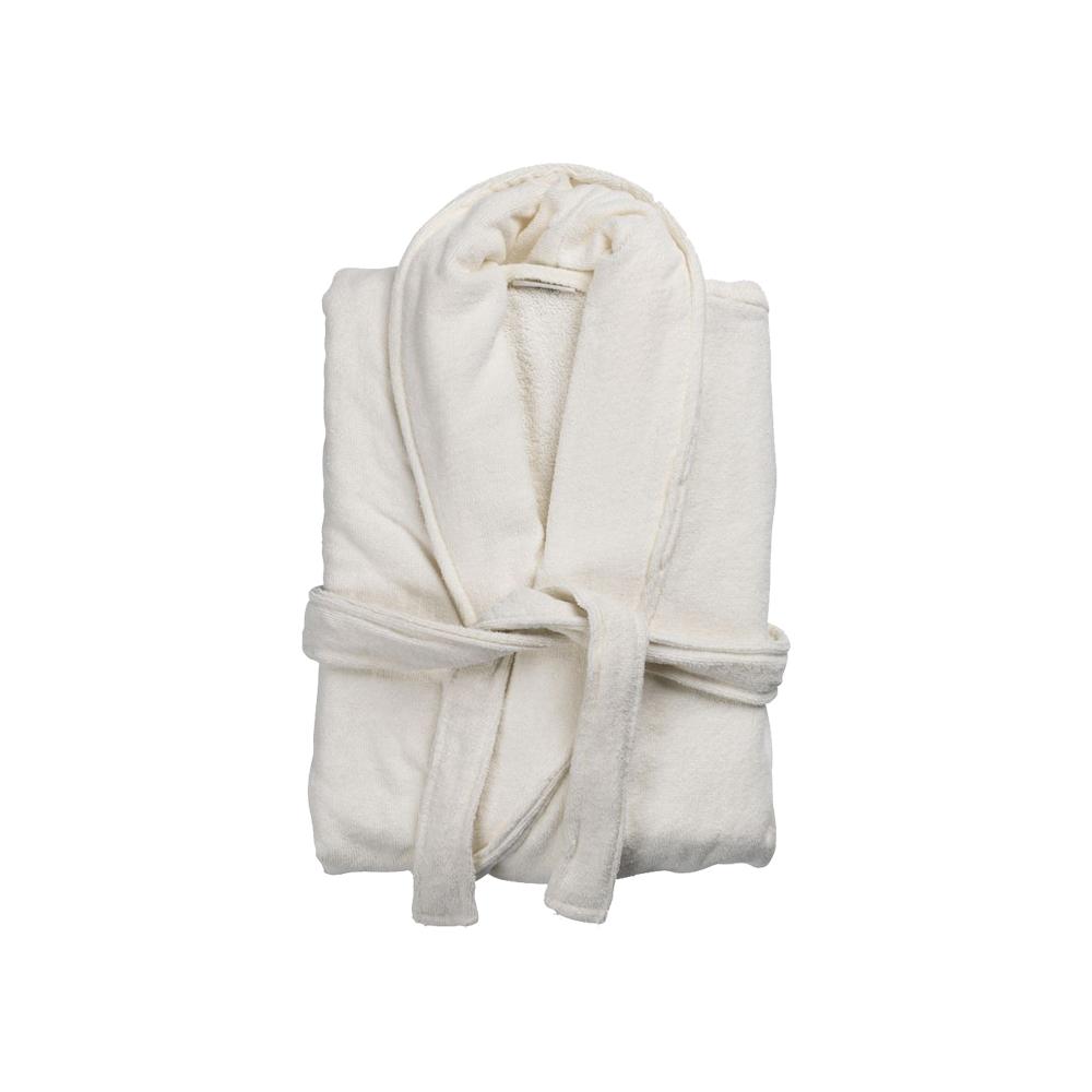 Áo choàng tắm TIBRO cotton màu tự nhiên S/M