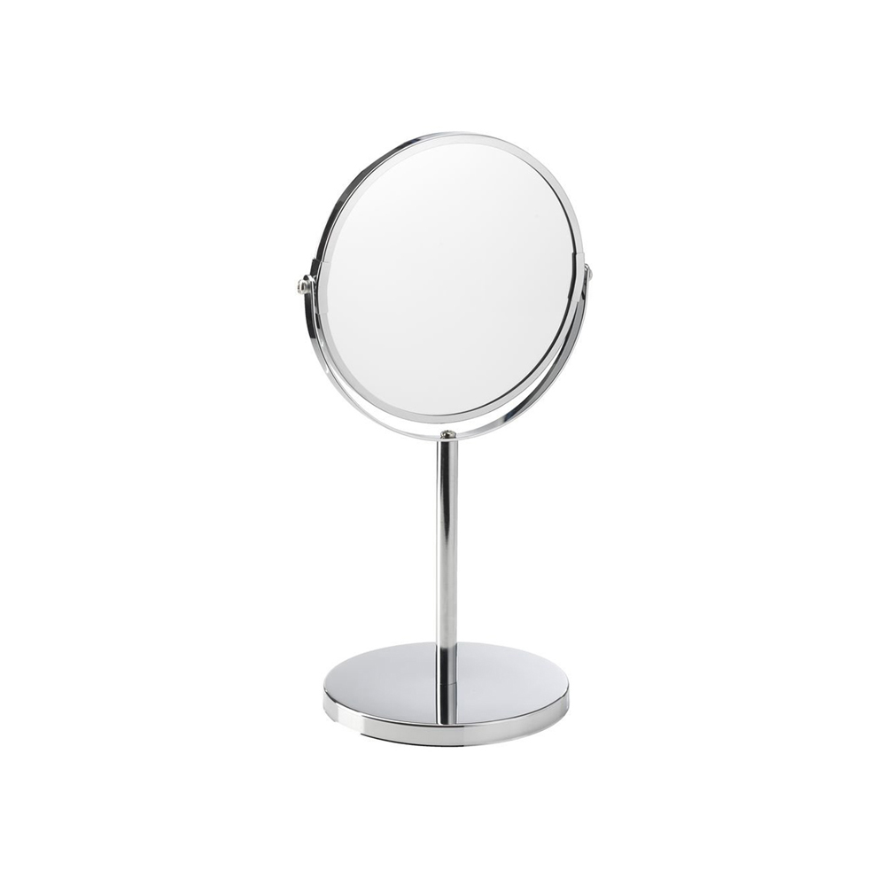 Gương để bàn 2 mặt MEDLE, khung kim loại, Ø17.5xH35cm