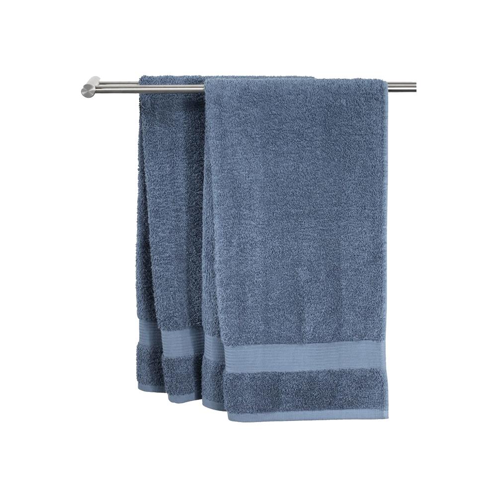 Khăn tắm cotton   KARLSTAD   xanh dương đậm   50x100cm   JYSK