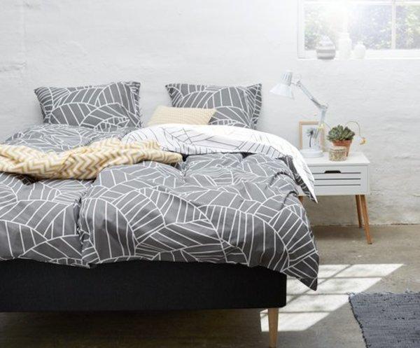 Sample bedroom interior design 12m2