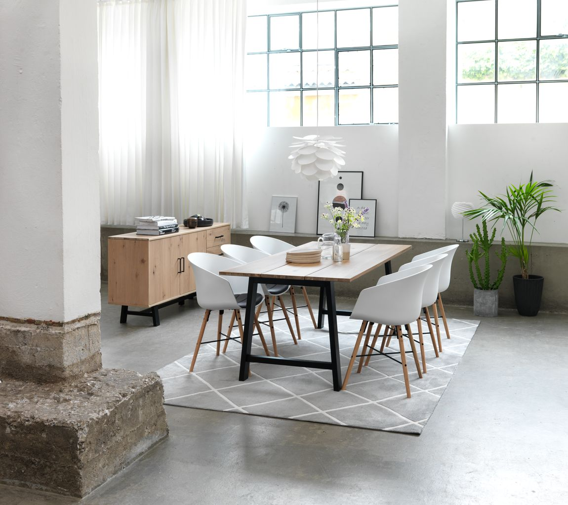 Các loại bàn ăn đẹp, kiểu dáng hiện đại cho gia đình
