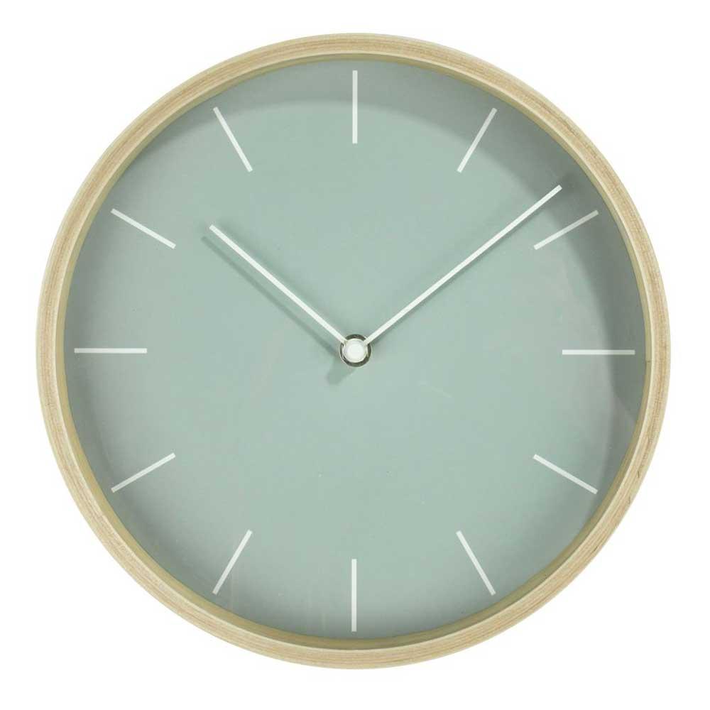 Đồng hồ HERMAN, khung gỗ mặt kính màu gỗ, DK26cm