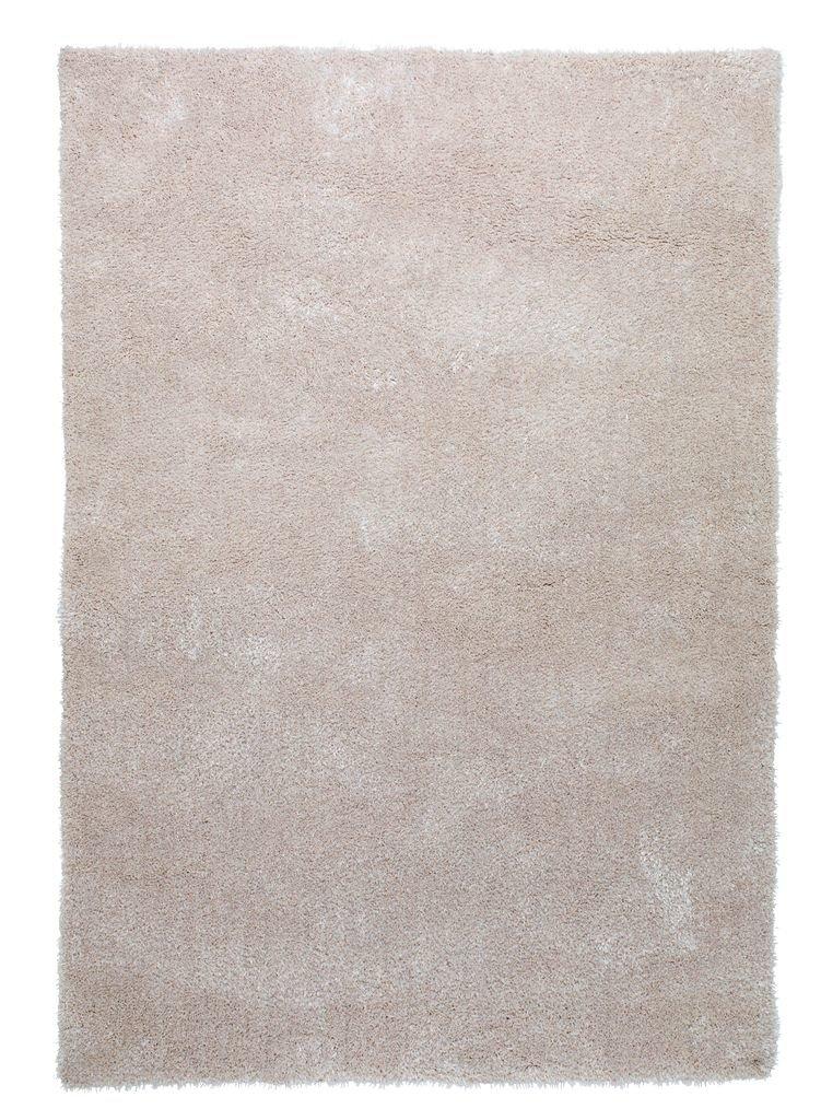 Thảm phòng khách BIRK, polyester màu tự nhiên