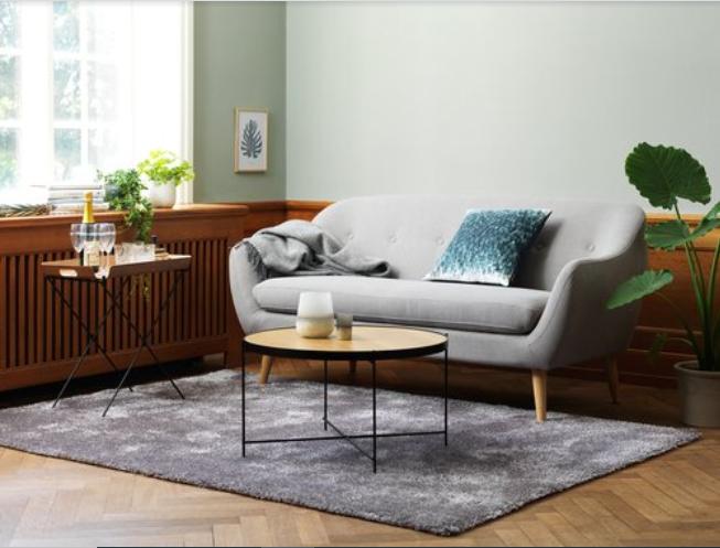 Mẫu phòng khách theo phong cách nội thất Retro