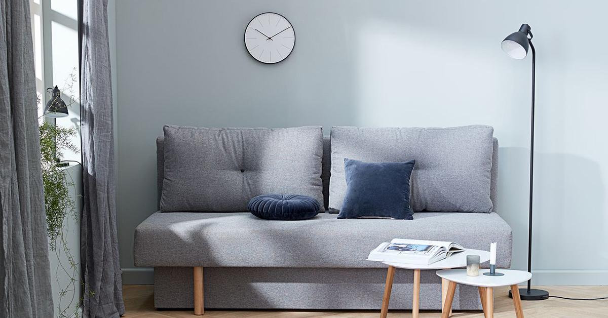 Phòng khách nội thất tối giản