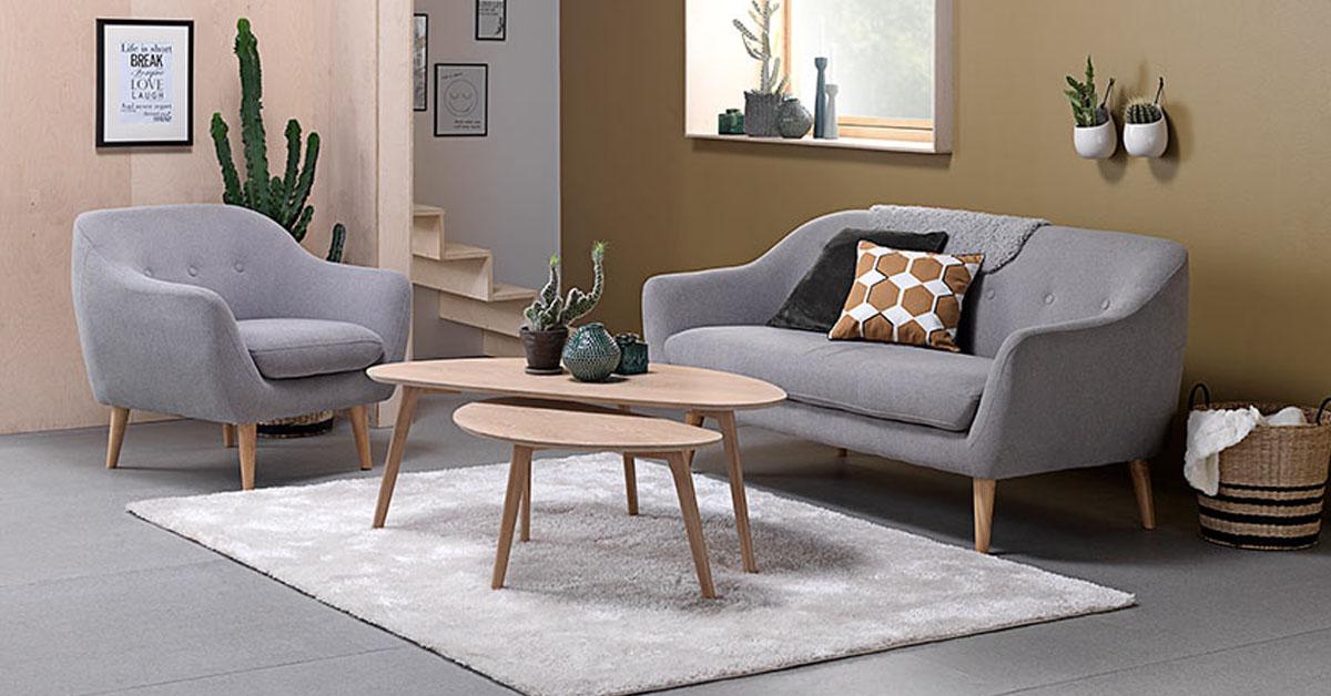 Màu sắc nội thất phòng khách có sự kết hợp hài hòa