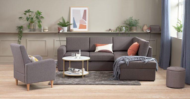Mẫu phòng khách đẹp, đơn giản, hiện đại 2021