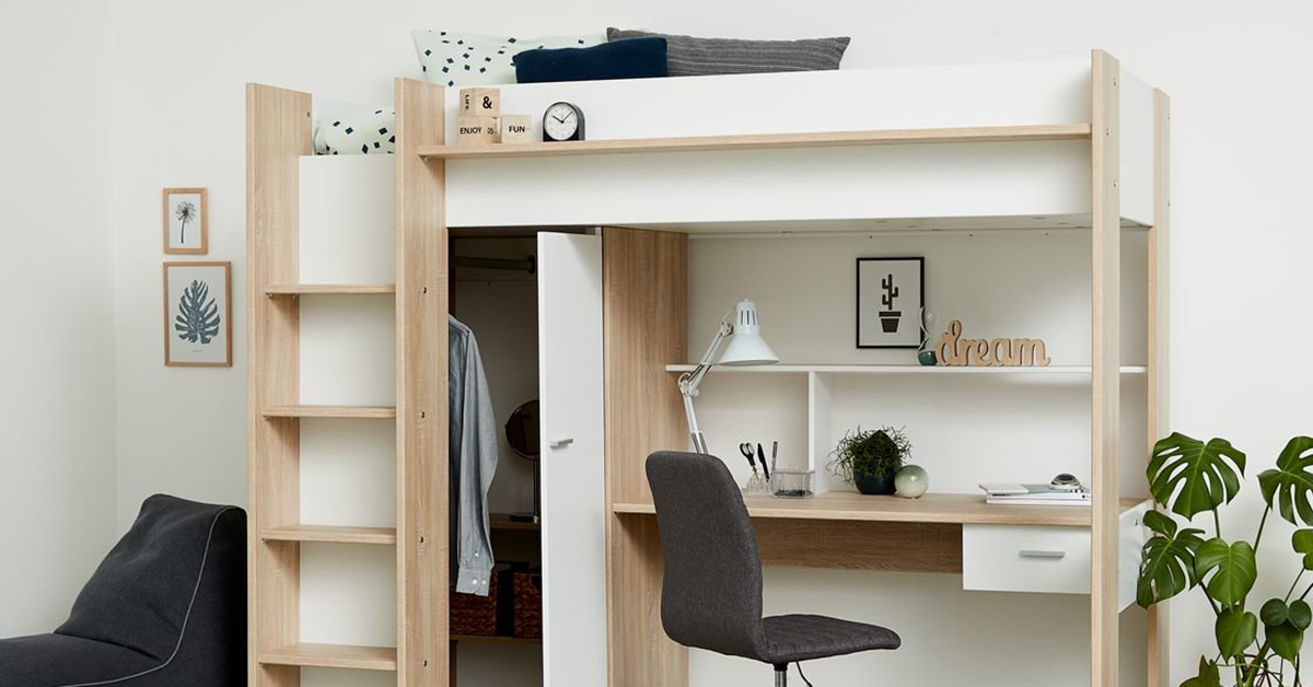 Nội thất phòng ngủ thông minh, hiện đại cho phòng ngủ nhỏ 2021